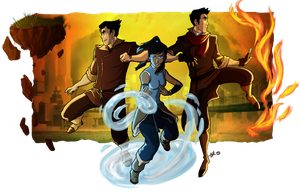 Legend of Korra by BehindtheVeil
