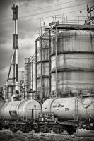 ..industrial park.. by keithpellig