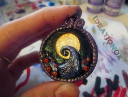 The Nightmare Before Christmas Hill Scene Charm. by Ideationox