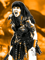 Xena Berserker Fan-Art by peileppe