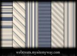 9 Blue Striped Patterns by WebTreatsETC