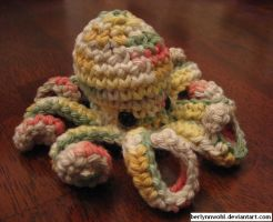 Rainbow Octopus by berlynnwohl