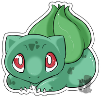 Nr.1 - Bulbasaur by Zusuriki