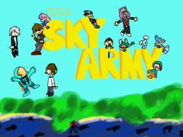 Sky Army by Icytherabbit1