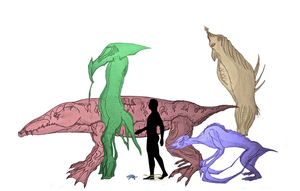 Creatures to Scale by Scinlao