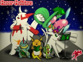 Holiday Card 2005 by Arbok-X