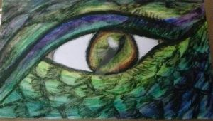 Eye of the Dragon by tracieodette