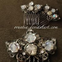 Custom Metals Hairpin by oruntia
