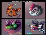 which is your fav, character from Chilean gang? by Hiyoko-little-chick