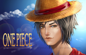 Luffy by crystalwings6