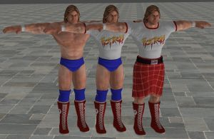 'WWE: All Stars' Rowdy Roddy Piper XPS ONLY!!! by lezisell