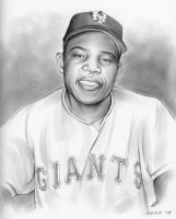 Willie Mays 18OCT14 by gregchapin