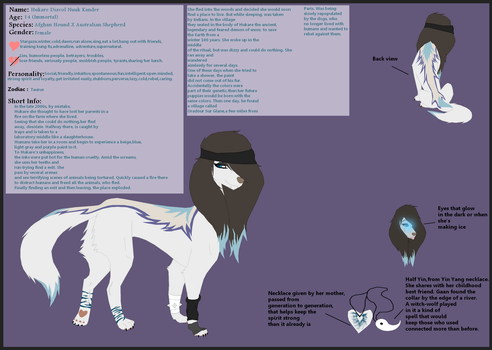 Hukare newest Ref by Warrior-Avenging