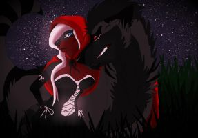 Who's Afraid of the big bad wolf? by Verena-Abraxas