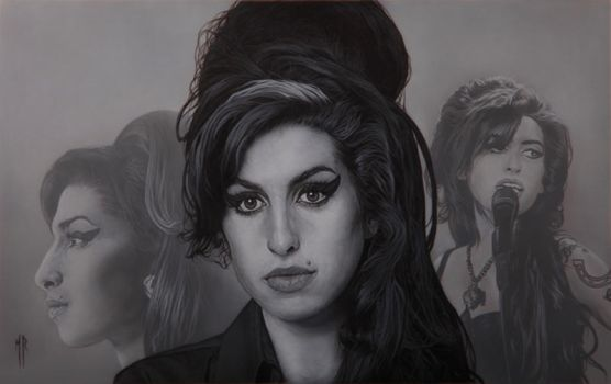 Amy winehouse by MRailas-art