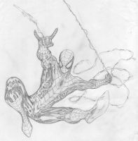 Webthwipping Spider-Man by SpiderGuile