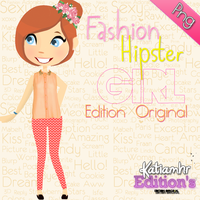 Fashion Hipster Girl by Girlspng