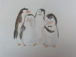 Penguins of Madagascar  by Minion-Who