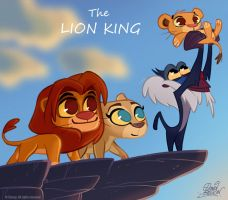 50 Chibis Disney : Lion King by princekido
