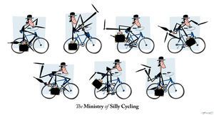 The Ministry Of Silly Cycling by Cool-Hand-Mike
