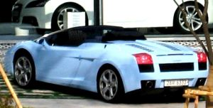 Lamborghini Gallardo Roadster by toyonda