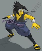 Sasuke Simpson_2 by Morpheus306