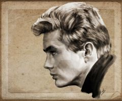 James Dean by keepsake20