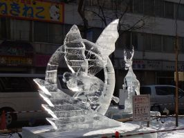 Ice sculpture 1 by Akira-H