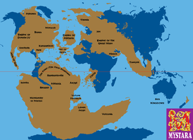 Mystara and the Lands beneath the Waves by Grimklok