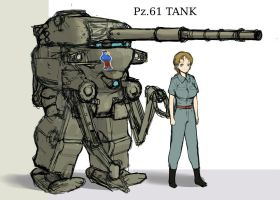 Pz61 style Powered exoskeleton. by QU-RO-QURO