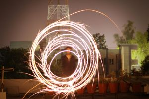 Light Painting-Diwali 2 by leostarkoneru