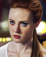 Jessica Hamby  -True Blood- by MarkAndrewNeilson