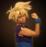 Super Saiyan Son Gohan cosplay by TechnoRanma