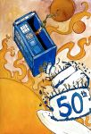 50th Anniversary of Doctor Who by xAngelHikarix
