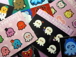 Vinyl Octopus Sticker Sheets by egyptianruin