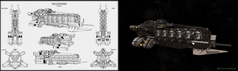 Utility Class Basic Transport Concept by Nym182