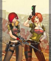 Lilith and Lilith, Borderlands by Br-Artemius