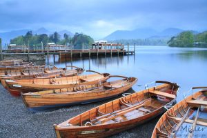 Boats At The Lake by karlmiller