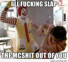 Ronald McDonald is pissed by AC-MONEY