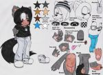 Samantha the Wolf Ref. //READ DESCRIPTION// by Sam-the-wolf147