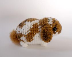 Custom lop bunny by LunasCrafts