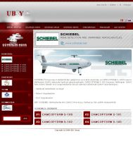 UBY Web Interface Product Page by HalitYesil