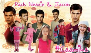 Pack Nessie y Jacob. pedido by CaamiKS