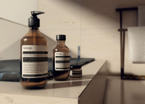 Aesop  product rendering by pujaantarbangsa