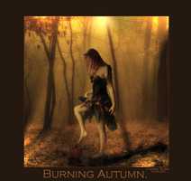 Burning Autumn by JupitersWidow