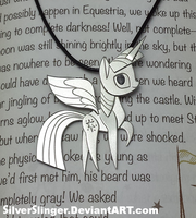 Book Horse Pendant by SilverSlinger