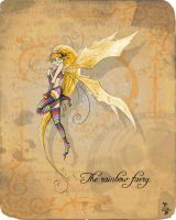 The rainbow faery by clv