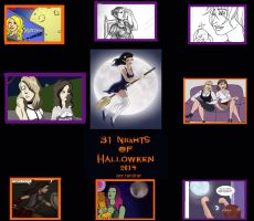 31 Nights Of Halloween 2014 by FullMoonMaster