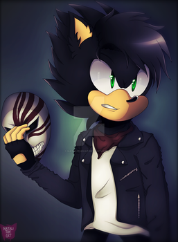 [Request for my friend] Ferach the Hedgehog by NataliTheCat