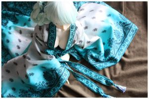 Shoppe : Vintage Sea Foam Robe by Nezumi-chuu